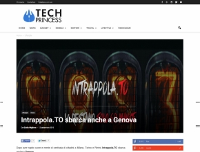 Techprincess - Intrappola.to sbarca anche a Genova