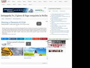 Le ultime notizie.eu - Intrappola.to: il gioco di fuga conquista la Sicilia