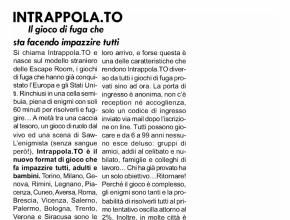 Il Monviso - Intrappola.to: il gioco di fuga che sta facendo impazzire tutti