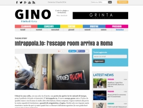 Gino Magazine - Intrappola.to: l'escape room arriva a Roma