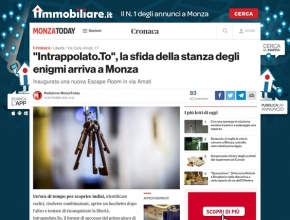 Monza Today - Inaugurata una nuova Escape Room in via Amati