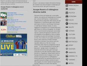 Notiziario Italiano - Escape Room e il videogioco diventa realtà