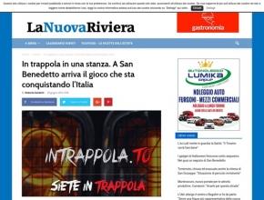 La Nuova Riviera - In trappola in una stanza. A San Benedetto arriva il gioco che sta conquistando l'Italia