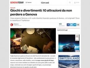 Genova Today - Giochi e divertimenti: 10 attrazioni da non perdere a Genova