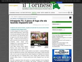 Il Torinese - Intrappola.TO, il gioco di fuga che sta facendo impazzire tutti