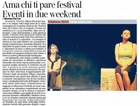 Corriere dell'Alto Adige - Intrappola.to nell'Ama chi ti pare Festival