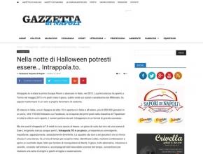 Gazzetta di Napoli - Nella notte di Halloween potresti essere... Intrappola.to