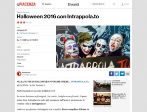 Il Piacenza - Halloween 2016 con Intrappola.to