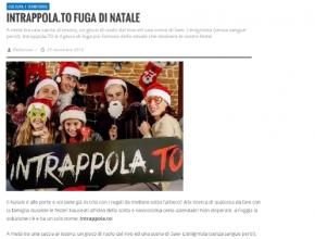 Foggia Reporter - Intrappola.to: la fuga di Natale