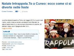 Libero 24x7.it - Natale intrappola.to a Cuneo: ecco come ci si diverte nelle feste