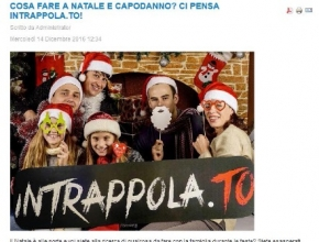 Seven Press - Cosa fare a Natale e Capodanno? Ci pensa Intrappola.to!