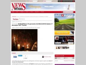 News Spettacolo - INTRAPPOLA.TO presenta SACRILEGIUM Sabato 17 dicembre 2017 a Torino