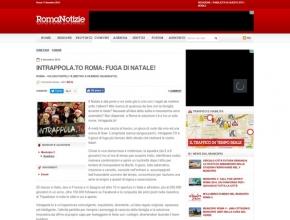 Roma Notizie - Intrappola.to Roma: fuga di Natale!