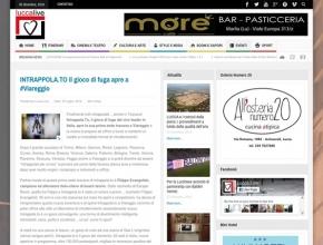 Lucca Live - Intrappola.to: il gioco di fuga apre a Viareggio