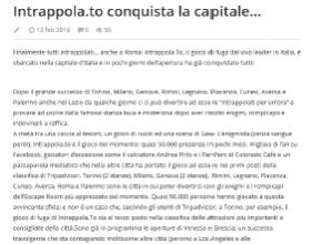 NemesisGroup - Intrappola.to conquista la capitale...
