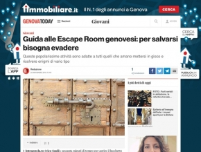 Genova Today - Guida alle Escape Room genovesi: per salvarsi bisogna evadere