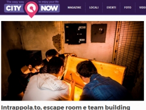 CityNow.it - Intrappola.to, escape room e team building