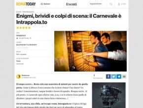 Roma Today - Enigmi, brividi e colpi di scena: il Carnevale è Intrappola.to!