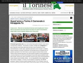 Il Torinese - Quest'anno a Torino il Carnevale è Intrappola.To