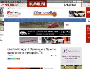 Geo News - Enigmi, brividi e colpi di scena: il Carnevale è Intrappola.to
