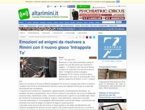 AltaRimini.it - Emozioni ed enigmi da risolvere a Rimini con il nuovo gioco 'Intrappola To'