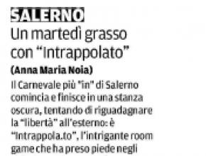 La Città di Salerno - Un martedì grasso con Intrappola.to