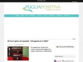 """PugliaPositiva - Arriva il gioco di squadra Intrappola.to """"In Mall"""""""