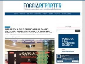Foggia Reporter - Intrappola.to e GrandApulia fanno squadra