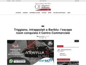 Il Quotidiano Italiano - Triggiano, intrappolati a Bariblu: l'escape room conquista il centro commerciale
