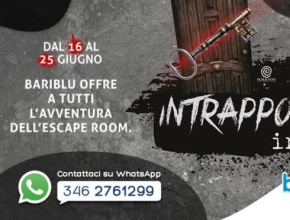 Il quotidiano italiano - Triggiano, escape room gratuita al centro commerciale Bariblu