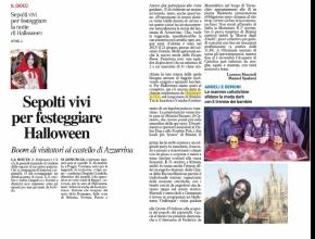 Il resto del Carlino Rimini - Intrappola.to: Sepolti vivi per festeggiare Halloween