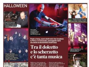 Il resto del Carlino Bologna - Halloween con tanta musica e... Intrappola.to!