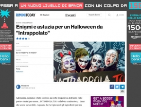 Rimini Today - Enigmi e astuzia per un Halloween da Intrappola.to!