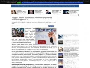 Strettoweb.com - Reggio Calabria: nella notte di halloween preparati ad essere Intrappola.TO!