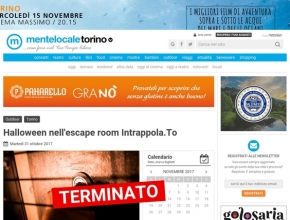 MenteLocale Torino - Halloween nell'escape room Intrappola.To
