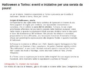 Eco di Torino - Intrappola.to tra le iniziative per trascorrere un Halloween indimenticabile!