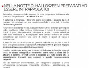 TrentoGiovani.it - Nella notte di Halloween preparati ad essere Intrappola.to!