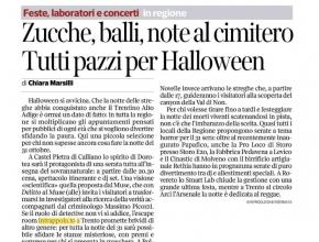 Corriere dell'Alto Adige - Ad Halloween riempitevi di brividi con... Intrappola.to!