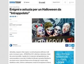 """Rimini Today - Enigmi e astuzia per un Halloween da """"Intrappolato"""""""