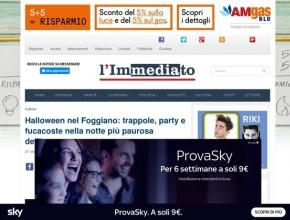 L'immediato - Halloween nel Foggiano: trappole, party e fucacoste nella notte più paurosa dell'anno