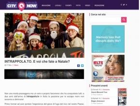 CityNow.it - Intrappola.to: E voi che fate a Natale?