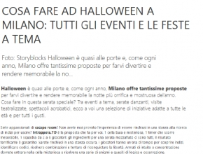 CitySightseeing - Cosa fare ad Halloween a Milano? Intrappola.to, ovviamente