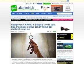 AltaRimini.it - Escape room Rimini, in trappola in una cella buia tra enigmi e rebus con 60 minuti per risolverli e uscirne