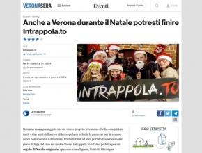 Verona Sera - Anche a Verona durante il Natale potresti finire Intrappola.to