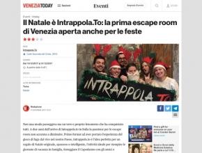 Venezia Today - Il Natale è Intrappola.to: la prima escape room di Venezia aperta anche per le feste