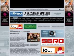 La Gazzetta di Viareggio - Natale Intrappola.To a Viareggio!