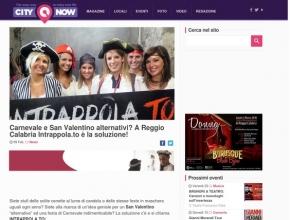 CityNow.it - Carnevale e San Valentino alternativi? A Reggio Calabria Intrappola.to è la soluzione!
