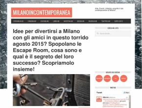 Milano in Contemporanea - Idee per divertirsi a Milano con gli amici? Spopolano le escape room, Intrappola.to in testa