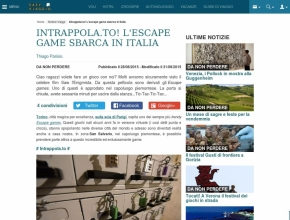 Easyviaggio.com - Intrappola.to! L'escape game sbarca in Italia