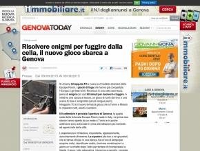 Genova Today - Risolvere enigmi per fuggire dalla cella, il nuovo gioco a Genova